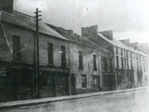 Market St, Swinford, Co Mayo Mellett's Emporium Vintage Photographs