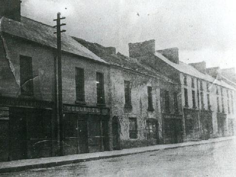 Market St, Swinford, Co Mayo Mellett's Emporium Vintage Photographs