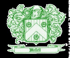 Mellett Family Crest Swinford Co Mayo (Mellett's Pub)