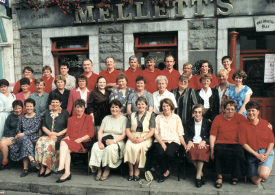 Mellett's Emporium Staff Photograph 1997