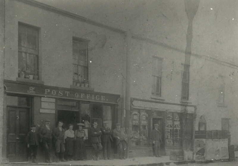 Mellett's Newsagents in Swinford was the old Post Office