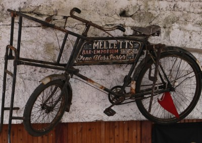 Anyone for a cycle? Just one of our many antiques on show