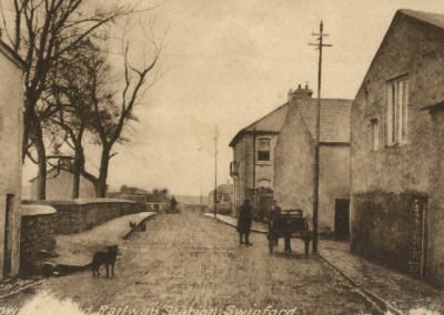 Railway Station in Swinford Co Mayo