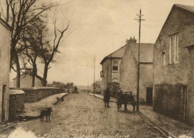 Railway Station in Swinford Co Mayo
