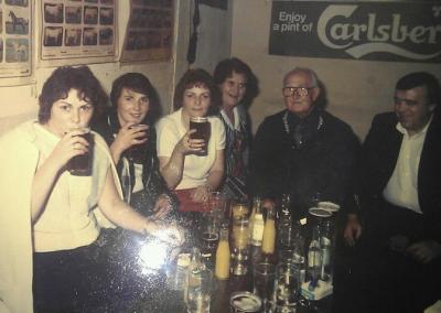 Willie Mellett & Co in Mellett's Emporium Swinford