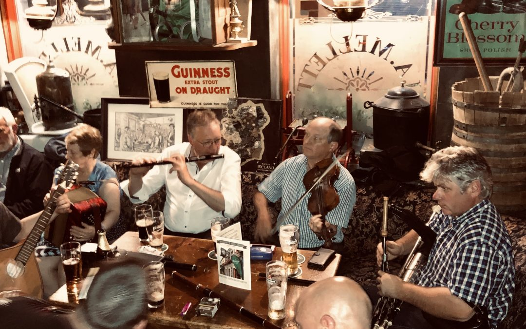 Traditonal Irish Music Session Thursday 20th September 2019